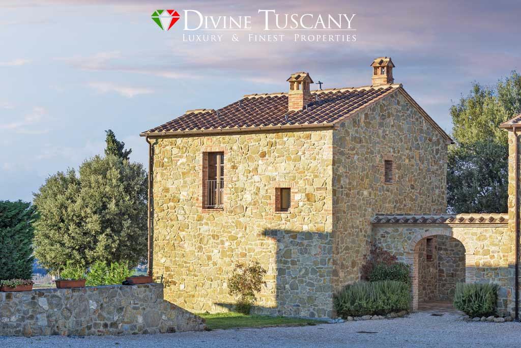 Casali e porzioni di casali vicino pienza tuscanitas luxury and